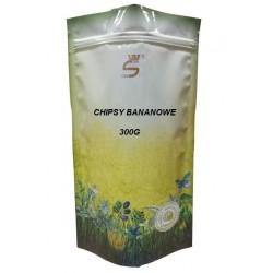 CHIPSY BANANOWE /300g/