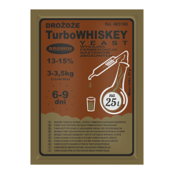 TURBO YEAST  WHISKEY FOR...