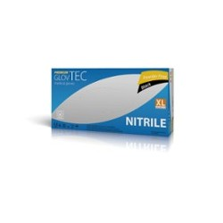 BLACK NITRILE GLOVES,...